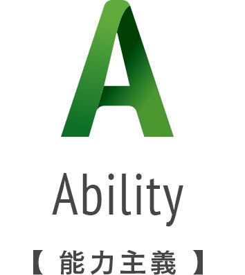 Ablity 能力主義